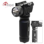 Flashlight With Tactical Grip – 180 Lumens