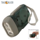 Trailblazer 3-LED Dynamo Hand Crank Flashlight