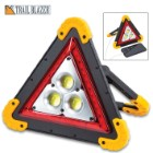 "Trailblazer Vehicle Emergency And Utility Light - COB Lights, Red LEDs, USB Port, USB Cable Included, Adjustable Handle - 7 3/4""x 8 1/4"""