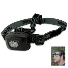 4 LED Headlamp