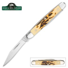 Bear Stag Delrin Pen Knife
