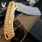 Golden Raven Samurai Razor Pocket Knife