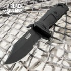 Black Legion Black Spring Assist Military Fighter Pocket Knife