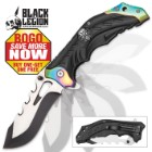 Black Legion Rainbow Bolster Assisted Opening Pocket Knife - BOGO