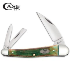 Case Sawcut Clover Bone Seahorse Whittler Pocket Knife