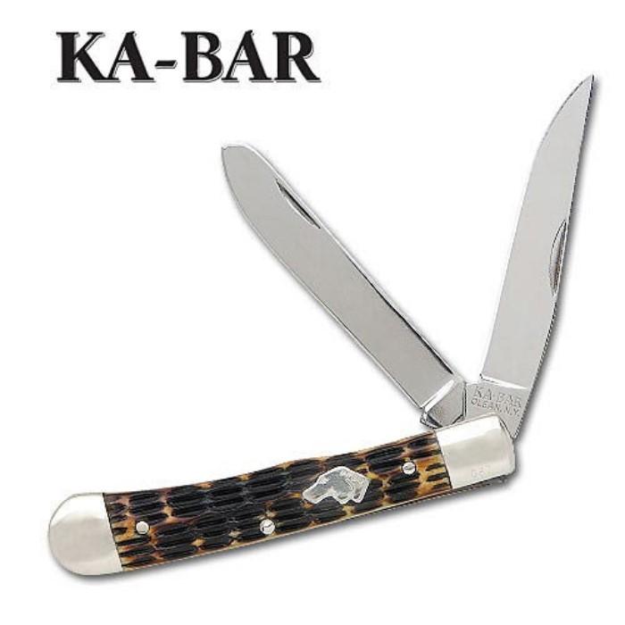 Kabar LE Dogs Head Trapper Folding Knife   BUDK com - Knives