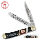 Kissing Crane Tennessee Whiskey Trapper Pocket Knife