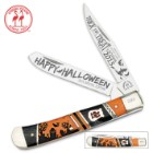 Kissing Crane Limited Edition 2015 Halloween Trapper Folding Pocket Knife