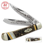 Kissing Crane Rattlesnake Trapper Knife