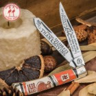 Kissing Crane 2016 Thanksgiving Trapper Pocket Knife