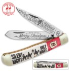 Kissing Crane 2016 Christmas Trapper Pocket Knife