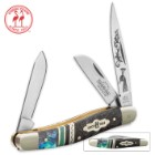 Kissing Crane Limited Edition Peacock Stockman Pocket Knife