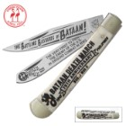 Kissing Crane Bataan Death March Trapper Pocket Knife