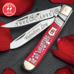 Kissing Crane 2018 Valentine's Day Trapper Knife