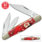 Kissing Crane Dynamite Red Whittler Pocket Knife