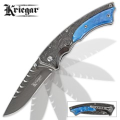 Kriegar Emperor Elite Titanium Assisted Open Folding Knife