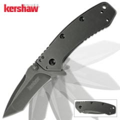 Kershaw Cryo Assisted Opening Pocket Knife Tanto