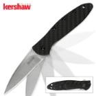 Kershaw Leek Carbon Fiber Stonewash Knife