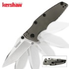 Kershaw Hinderer Shield Assisted Opening Frame Lock Folding Pocket Knife
