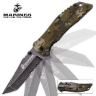 MTech U.S.M.C. Serviceman Assisted Opening Tanto Pocket Knife Digital Camo