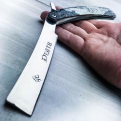 Grim Reaper Razor Blade Knife