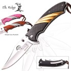 Elk Ridge Spring-Assisted Mirror Blade Pocket Knife