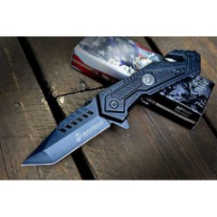 MTech U.S.M.C. Scrapper Assisted Opening Rescue Pocket Knife