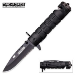M9 Bayonet Inspired Spring Assist Pocket Knife