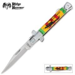 Ridge Runner Vietnam Veteran Stiletto Folding Knife