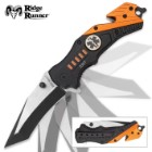 Ridge Runner EMT Everyday Carry Assisted Opening Tanto Pocket Knife