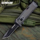 Schrade Viper OTF Assisted Opening Pocket Knife Tanto Point