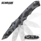 Schrade Camo Tanto Blade Pocket Knife