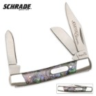 Schrade Imperial Purple Small Stockman Pocket Knife