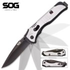 SOG Flashback Black Tini Assisted Opening Pocket Knife
