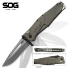 SOG Quake XL Assisted Opening Pocket Knife