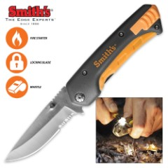 Smiths Survival Pocket Knife And Tool