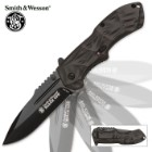 Smith & Wesson Black Ops Assisted Opening Pocket Knife