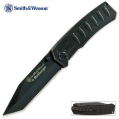 Smith & Wesson Bullseye Tactical Tanto Pocket Knife