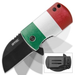 "Mexico Flag 2 1/2"" Assisted Opening Pocket Knife"