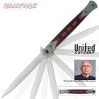 United Cutlery Rampage Assisted Opening Stiletto Red & Black