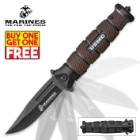 USMC Jarhead Assisted Opening Pocket Knife - BOGO