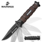 USMC Jarhead Assisted Opening Pocket Knife