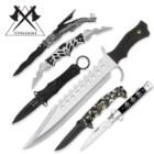 Tomahawk 6-Pc. Fantasy Blade Combo