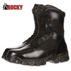 Rocky Alpha Force Zipper Waterproof Duty Boot
