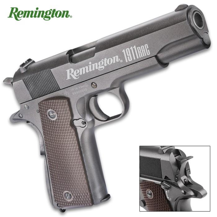 Remington 1911 RAC Air Pistol - CO2-Powered, Full-Metal Construction