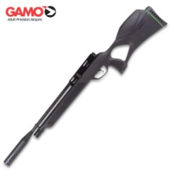 Gamo Urban .22 PCP Air Rifle - 800 FPS, 10-Round Rotary Magazine, Built-In Manometer, Synthetic Stock, Rifled Steel Barrel