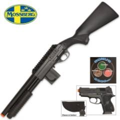 Mossberg Tactical Full Stock Spring Airsoft Shotgun Kit