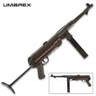 Umarex Legends MP40 BB Submachine Gun - German Gun Replica, Full Metal Construction, Polymer Grip, 52-Round Magazine