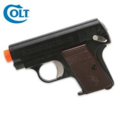 Colt 25 Spring Airsoft Pistol Black
