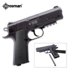 1911 CO2 Powered Black Semiautomatic BB Air Pistol